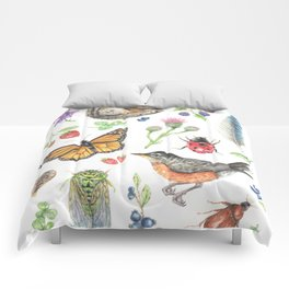 Flora and Fauna of Summer Comforters