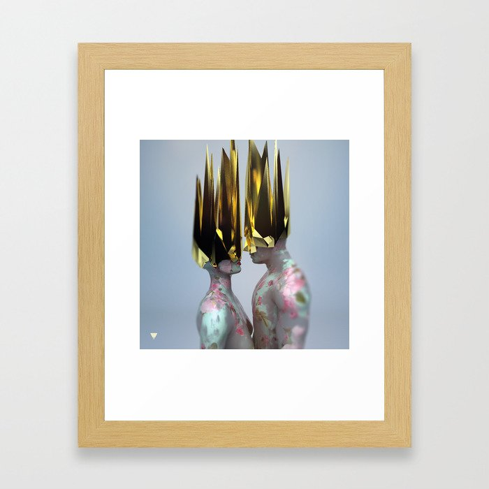 Im Sorry ∀ Framed Art Print
