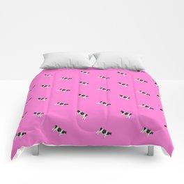 Holsteins // Barbie Pink Comforters