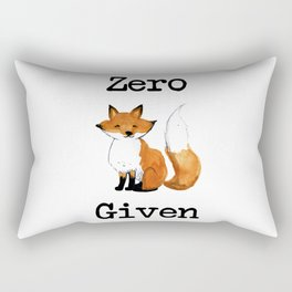 Zero Fox Given Rectangular Pillow