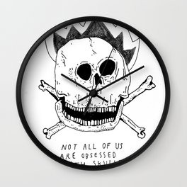 GETTING RID OF PUNK-ROCK MYTHS #1 Wall Clock