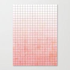 Sweet Pink Geometry Canvas Print