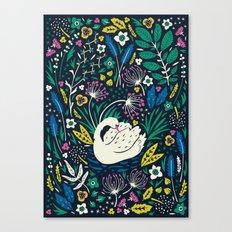 Wild Swan Canvas Print