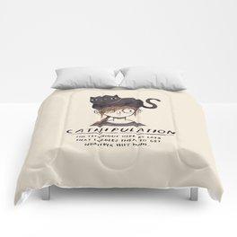 catnipulation Comforters