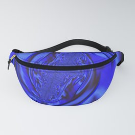 Inspirational Blue Fanny Pack