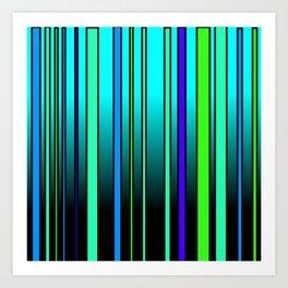 Fresh Blue Art Print