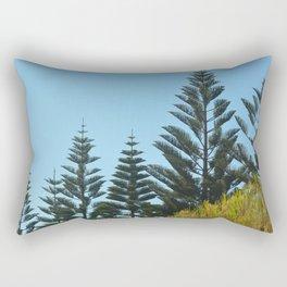 Australian Pine Trees Rectangular Pillow