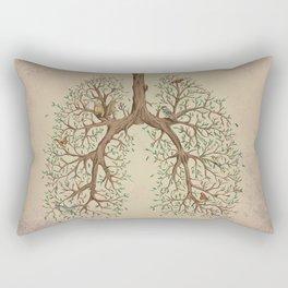 Breathe! Rectangular Pillow