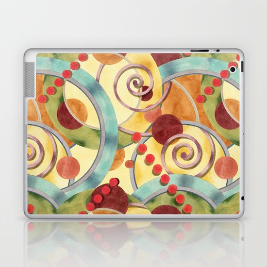 Europa Design Laptop & iPad Skin