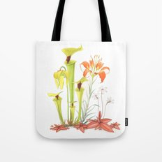 My Pitcher Plant Bog Tote Bag