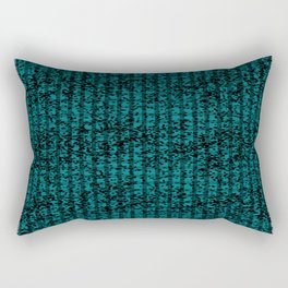 Forest in Teal II Rectangular Pillow
