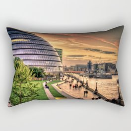 F O S T E R | architect | London City Hall Rectangular Pillow
