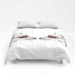 Twin Coyotes Comforters