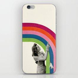 Paint a Rainbow iPhone Skin