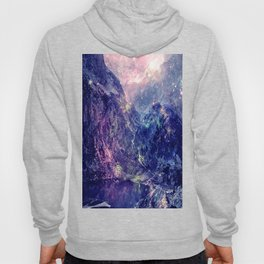 Galaxy Mountains : Deep Pastels Hoody