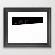 Mario Andretti, Lotus 77, 1976 Framed Art Print
