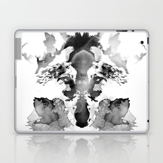 Rorschach Laptop & iPad Skin