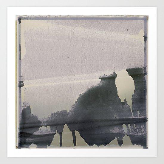 Clouded Art Print