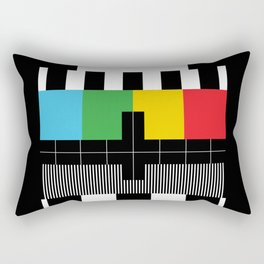 Test Pattern Rectangular Pillow