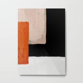 abstract minimal 14 Metal Print