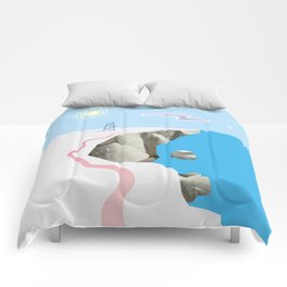 White Silence Comforters