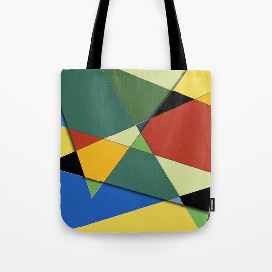 Abstract #323 Vincent's Palette Tote Bag