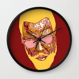 Thelonious Monk Portrait Wall Clock