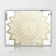 BOHO NIGHTS GOLD MANDALA Laptop & iPad Skin