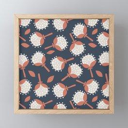 Cotton Bolls Framed Mini Art Print