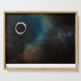 Solar Eclipse 2017 Serving Tray