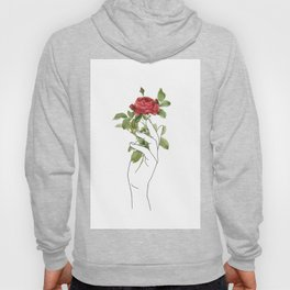 Flower in the Hand Hoody