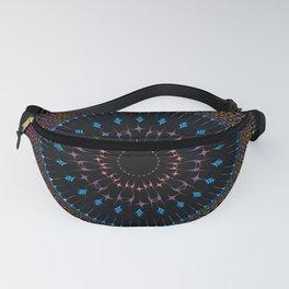 Mandala fractal and decorative Fanny Pack