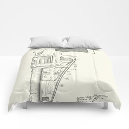 Photographic attachment for firearms Patent BW - Circa 1934 Comforters