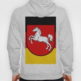 Flag of Niedersachsen (Lower Saxony) Hoody