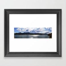 Colorado Lake Framed Art Print