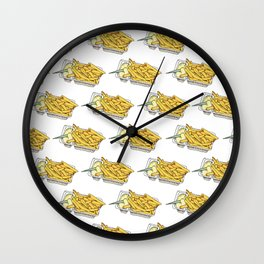 dutch fries Wall Clock