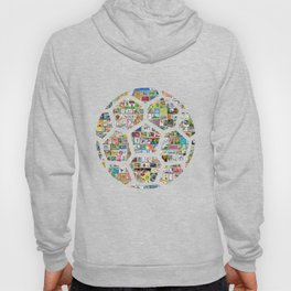 Philately Soccer Ball Hoody