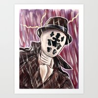 rorschach Art Prints featuring Rorschach by MSG Imaging