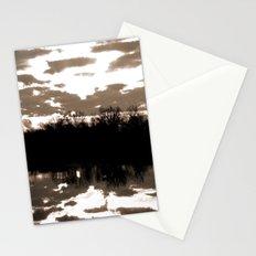halloween sunrise Stationery Cards