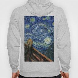 The Scream Starry Night Edvard Munch Vincent Van Gogh Hoody