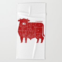 carne Beach Towel