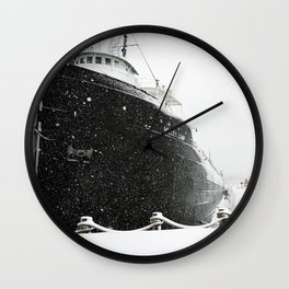 Valley Camp Freighter Wall Clock