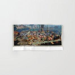 "Vintage Travel Diamond City ""postcard"" Hand & Bath Towel"