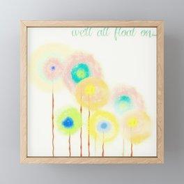 Float On Framed Mini Art Print