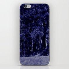 blue trees iPhone & iPod Skin