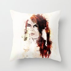 Color Me Autumn Throw Pillow