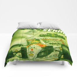 Ayrton Senna Tribute Comforters