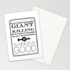 Giant Killing is My Business... Stationery Cards