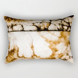 Weathered Alabaster - Grittier Rectangular Pillow