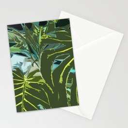 Indoor Monstera Plants Stationery Cards